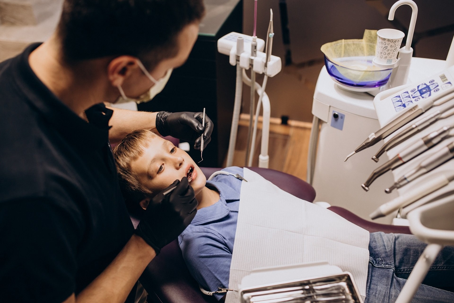 Açık Apeksli Dişte Kanal Tedavisi